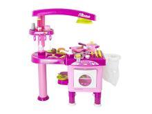 Dětský kuchyňka G21 velká s příslušenstvím PINK