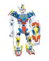 Hlavolam 3D puzzle Transformer robot