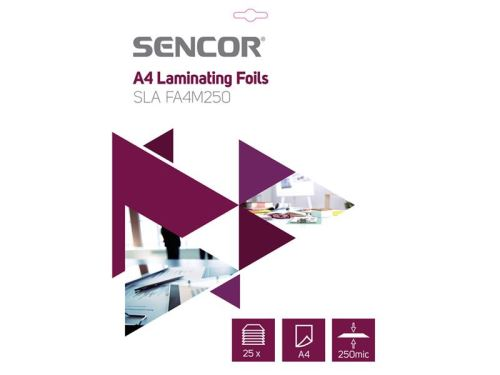 Laminovací folie SLA FA4M250 A4 250mic 25ks