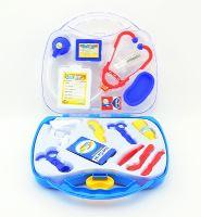 Dětský doktor TEDDIES v plastovém kufříku 16ks