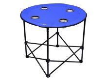 Stůl kempingový CATTARA skládací SPLIT modrý