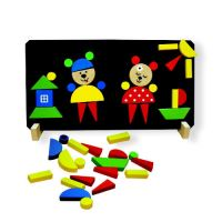 Puzzle magnetické DETOA MEDVĚDI dětské