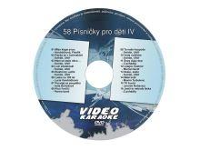Karaoke DVD PÍSNIČKY PRO DĚTI IV
