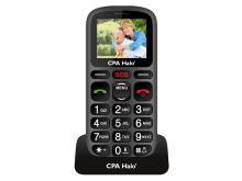 Telefon CPA HALO 16 SENIOR BLACK