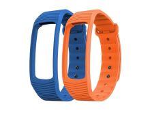 Řemínek EVOLVEO pro FITBAND B3, 1x modrá a 1x oranžová barva