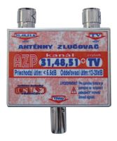 Anténní slučovač AZP31,48,51+TV  IEC