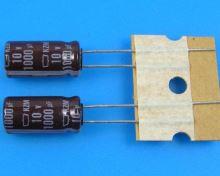 1000uF/10V - 105°C Nippon  KZM kondenzátor elektrolytický, low ESR, long life, high ripple