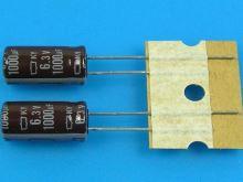 1000uF/6,3V - 105°C Nippon  KY   kondenzátor elektrolytický, low ESR, long life