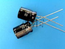 100uF/35V - 105°C Panasonic GE   kondenzátor elektrolytický