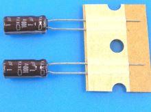 1uF/100V - 105°C Nippon  KYA   kondenzátor elektrolytický low ESR, long life, high ripple