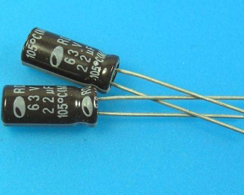 22uF/63V - 105°C Samwha RD   kondenzátor elektrolytický