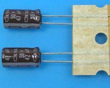47uF/50V - 105°C Nippon  KYA   kondenzátor elektrolytický, low ESR, long life