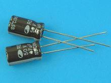 47uF/50V - 105°C Samwha RD  kondenzátor elektrolytický