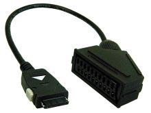 Kabelová redukce s konektorem Scart / pro mini Scart  30071150 Vestel
