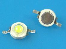 LED ČIP3W / LED dioda COB 3W / LEDCOB20W / LED CHIP 3W studená bílá