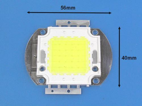 LED ČIP50W / LED dioda COB 50W studená bílá / LEDCOB50W / LED CHIP 50W