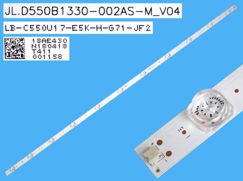 LED podsvit 1085mm, 11LED / LED Backlight 1085mm - 11 D-LED  JL.D550B1330-002AS-M_V04 / LB