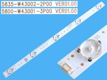 LED podsvit 385mm, 5LED / LED Backlight 385mm - 5 D-LED, 5835-W43002-2P00 VER01.00, 10-100