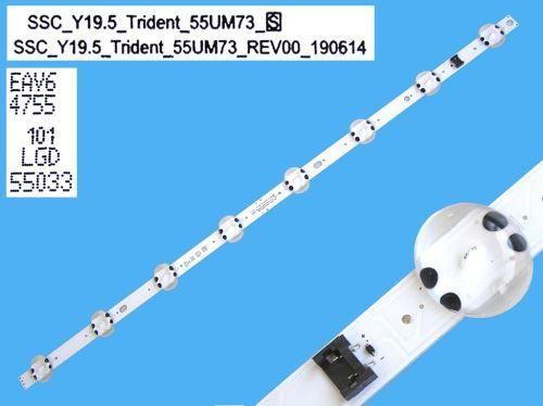 LED podsvit 490mm, 4LED / LED Backlight 490mm - 4 D-LED, Arcelik_43_Crystal_1X3+1x4_L_1313