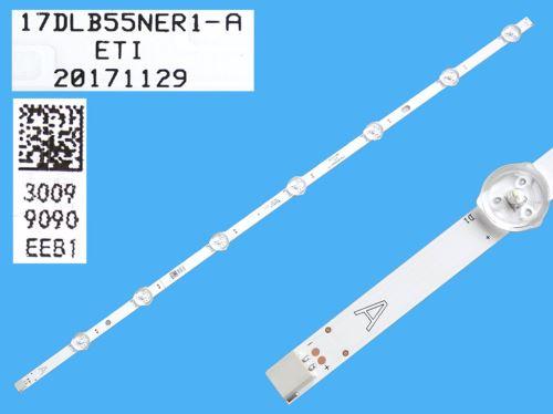 LED podsvit 533mm, 7LED / LED Backlight 533mm - 7DLED, 30099090, 17DLB55NER1-A