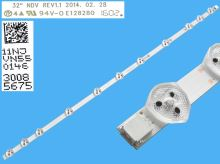 LED podsvit 575mm, 11LED / LED Backlight 575mm - 11DLED, 30085675
