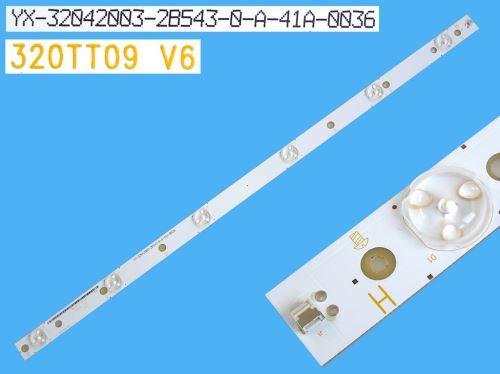 LED podsvit 575mm, 6LED / DLED Backlight 575mm - 6DLED, 320TT09V6 / YX-32042003-28543-0-A-