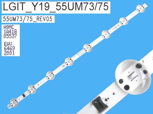LED podsvit 582mm, 8LED / DLED Backlight 582mm - 8 D-LED, LGIT_Y19_Trident_55UM73/75, EAV6