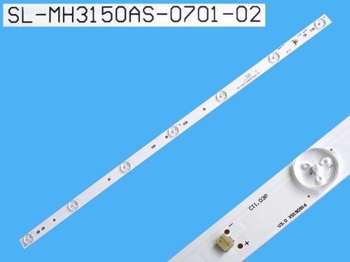 LED podsvit 590mm, 7LED / LED Backlight 588mm - 7 D-LED, SL-MH3150AS-0701-02