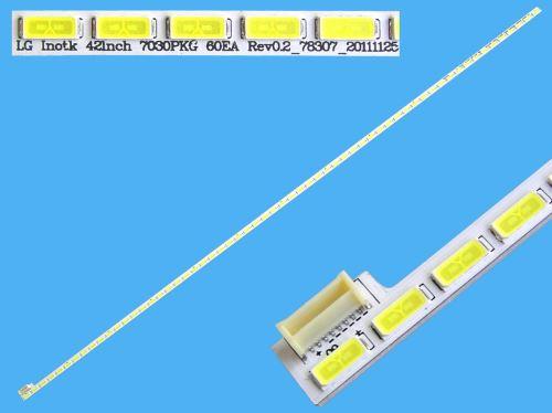 LED podsvit EDGE 528mm / LED Backlight edge 528mm - 60 LED  6920L-0001C / Innotek 42Inch 7