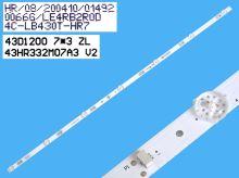 LED podsvit sada LG AGF78400901 celkem 8 pásků / DLED TOTAL ARRAY LC470DUE-FGA4 / AGF78400901  6916L-1248A, 6916L-1249A / 6916L-1715A + 6916L-1716A