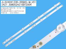 LED podsvit sada Philips 210BZ07D0433T0700L celkem 3 pásky 620mm / DLED TOTAL ARRAY 996598003613 / LB32080 V0_00