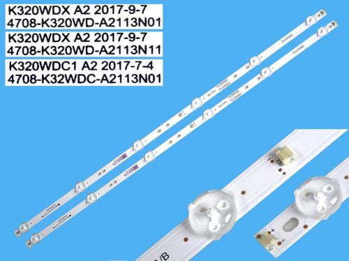 "LED podsvit sada Philips 32"" celkem 2 pásky 583mm / DLED TOTAL ARRAY K320WDX A2 / 4708-K32"