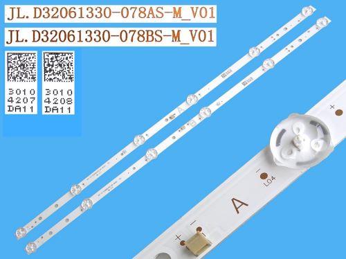 LED podsvit sada Vestel 32 D32061330 celkem 2 pásky 550mm / DLED TOTAL ARRAY JL.D32061330-