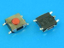 Mikrotlačítko SMD 6 x 6mm - 2,5mm výška