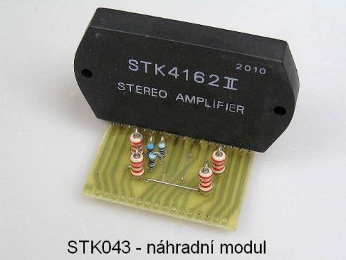 STK041 / STK043 - náhradní modul - INFO