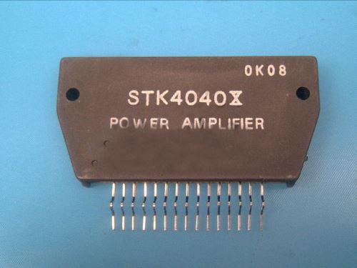 STK4036X / STK4040 X