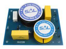 Výhybka SAL HV228 dvoupásmová 8ohm/200W s přepínáním výstupní úrovně