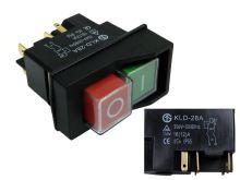 Vypínač, spínač elektrického nářadí KLD-28A / DZ-6 5P / KJD17
