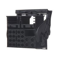 MOST plast konektoru černý, 25055/1