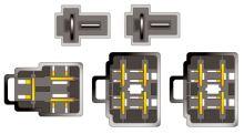 Konektor ISO Kia Sephia Sportage, 21041