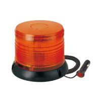 Výstražný LED maják, R10, magnetický úchyt, 12/24V, oranžový, LBB205L-A