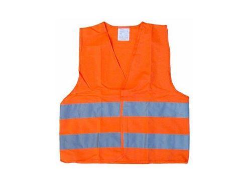 Vesta výstražná oranžová dětská