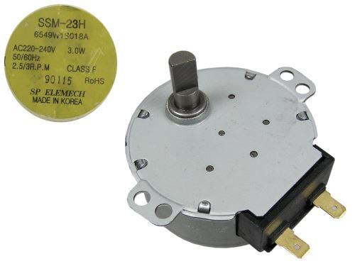 Motorek pro otáčení talíře do mikrovlnné trouby 230V SSM-23H 6549W1S018A LG
