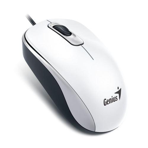 Genius DX-110/ drátová/ 1000 dpi/ USB/ bílá, 31010116109