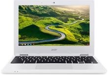 "Acer Chromebook 11 (CB3-131-C4SZ) Celeron N2840/2GB/eMMC 32GB+N/HD Graphics/11.6"" HD ComfyView LCD/Google Chrome/White, NX.G85EC.001"