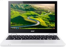 "Acer Chromebook R 11 (CB5-132T-C5RN) Celeron N3150/4 GB+N/eMMC 64GB+N/HD Graphics/11.6"" Multi-touch HD IPS/BT/Google Chrome White, NX.G54EC.002"