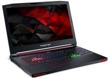 """Acer Predator17 X (GX-792-742E) i7-7820HK/16GB+16GB/512GB SSD+1TB 7200ot./GTX 1080 8GB/17.3""""FHD matný IPS/BT/W10 Home/Black, NH.Q1EEC.001"""