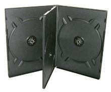 Krabička na 4x DVD černá, 27011
