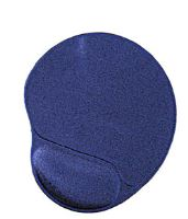 Podložka pod myš GEMBIRD - gelová, ergo - modrá, POD052431