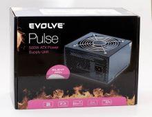 Evolve zdroj 500W PULSE, ATX 2.2, 12cm fan, pas. PFC, 4xSATA, 1x PCIe 6, černý, retail, EP500PP12R